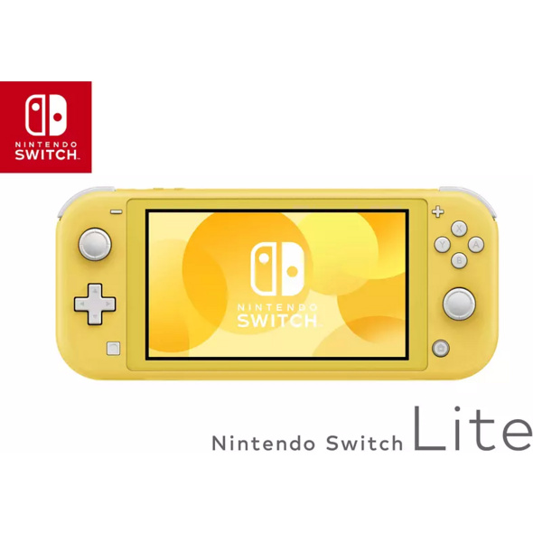 NINTENDO Switch Lite Gelb Spielekonsole, Gelb, 32 GB