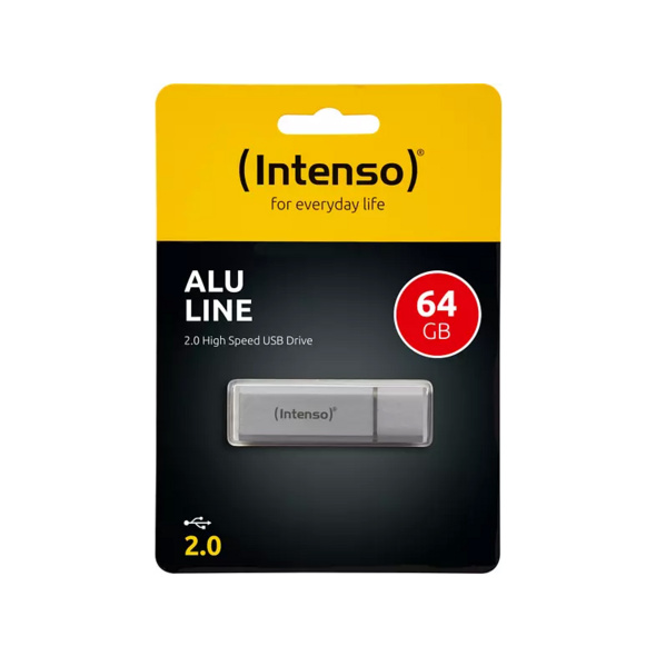 INTENSO Alu Line, 64 GB
