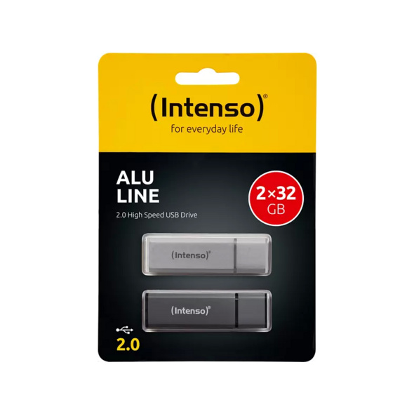 INTENSO Alu Line 2x , 32 GB
