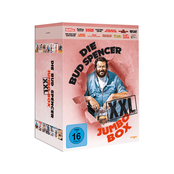 Die Bud Spencer Jumbo Box XXL - (DVD)