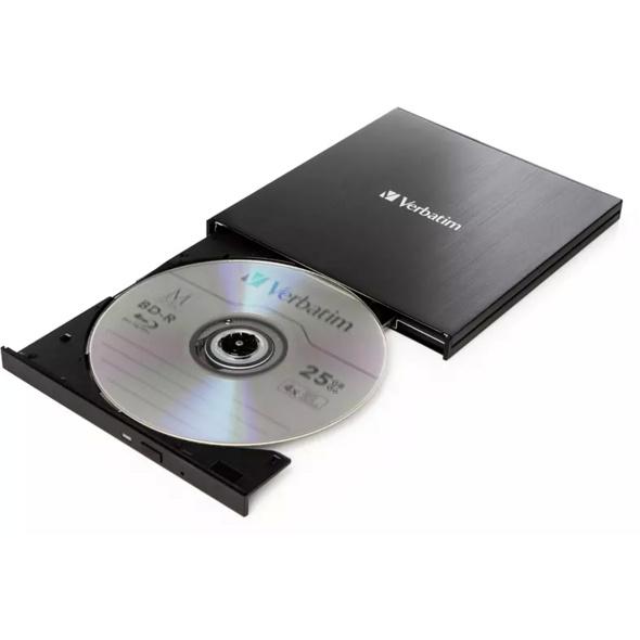 VERBATIM 43888, Blu-ray Disc-Brenner, extern
