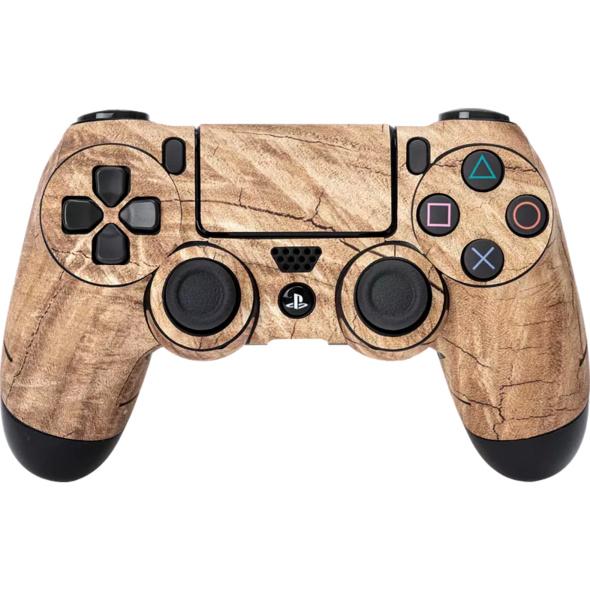 SOFTWARE PYRAMIDE Skins - Sticker für PS4 Controller Sticker, Wood