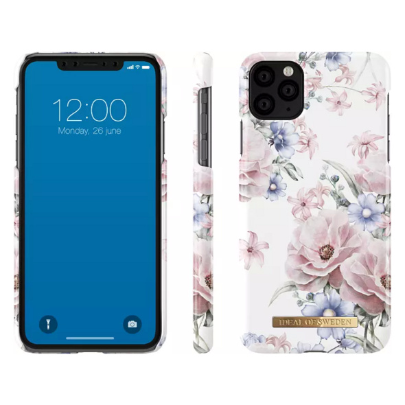 IDEAL OF SWEDEN Fashion Case Handyhülle, Apple iPhone 11 Pro Max, Weiß/Rosa