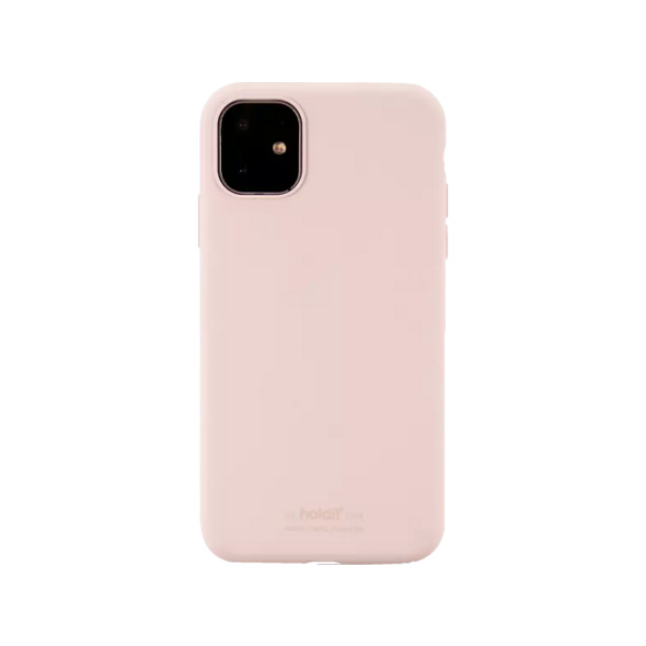 HOLDIT 14307 SILICONE CASE Handyhülle, Apple iPhone 11, Rosa