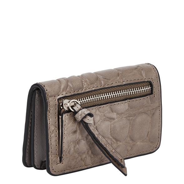 kleine Geldbörse mit hochwertiger Krokoprägung - Annie Cardie