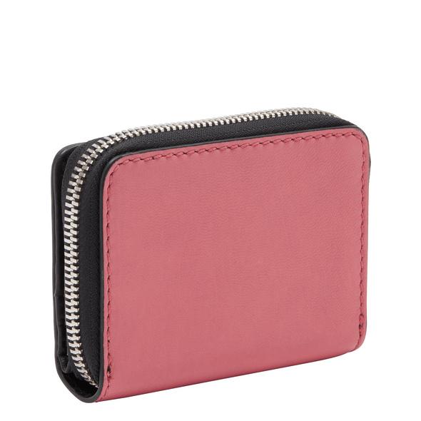 Portemonnaie aus Leder mit breitem Reißverschluss - Brooke Alexis