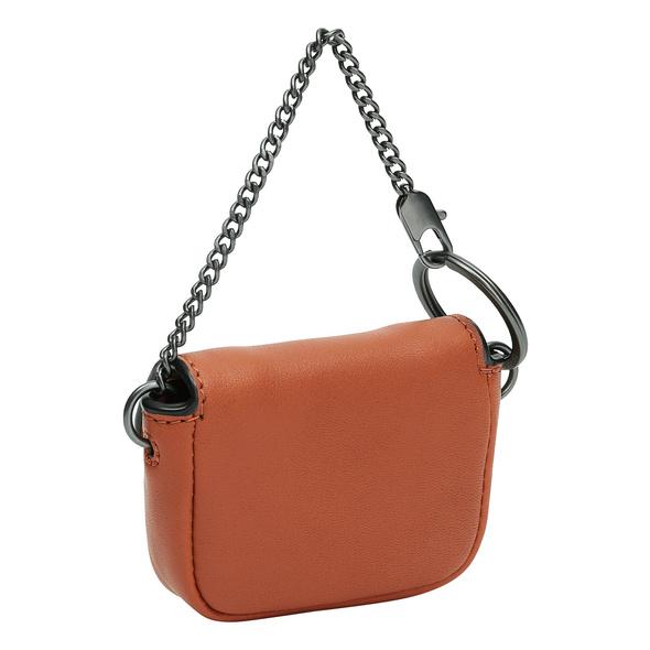 Schlüsselanhänger mit Tasche aus Leder - Fab Keyring