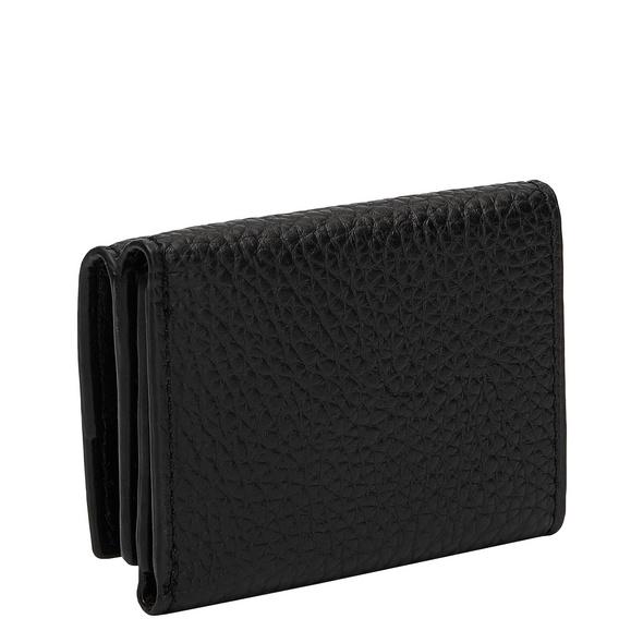 Kompaktes Portemonnaie aus Leder - Trudie Bea