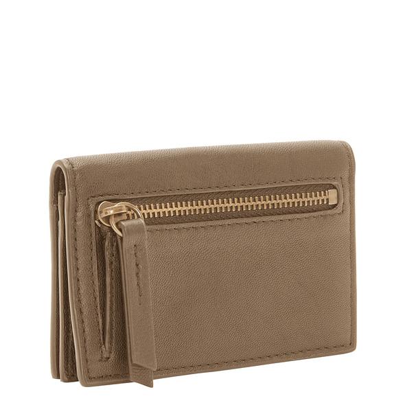 Kompakter Geldbeutel aus Leder - Chelsea Cardie