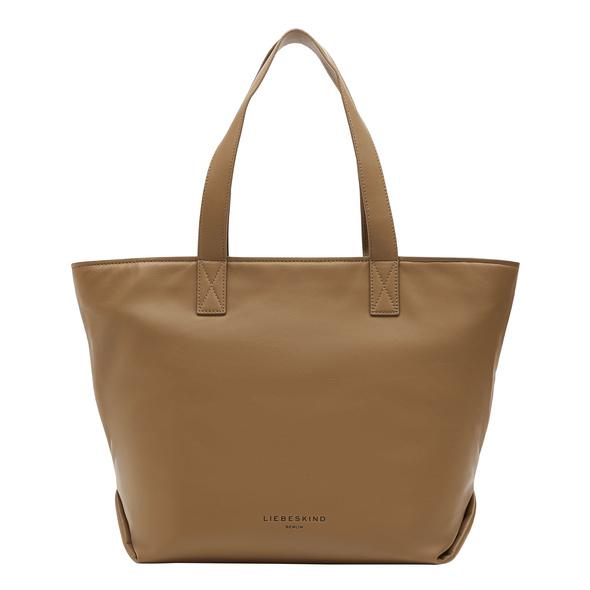 Einfacher Shopper aus Leder - Clarice Shopper M