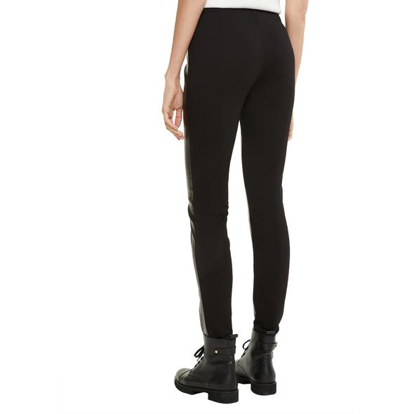 Skinny Fit: 7/8-Hose im Fabricmix - Leggings