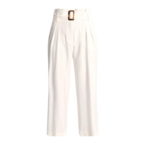 Regular Fit: Paperbag-Hose - 7/8-Hose