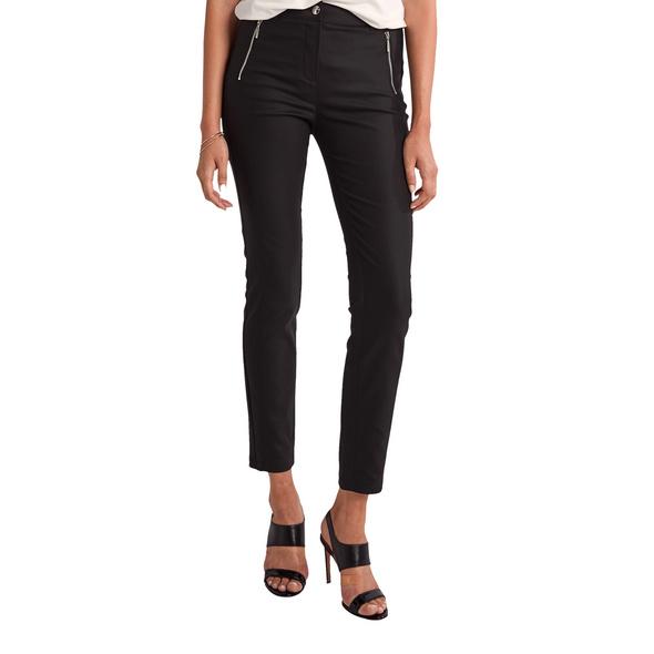 Slim: Elastische 7/8-Hose - Leggings