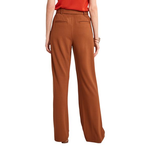 Regular: Hose aus Jersey-Twill - Marlenehose
