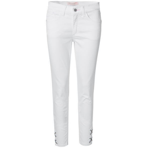 Jeans mit Multicolor-Schnürung - Skinny Fit