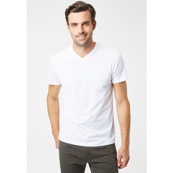 Doppelpack-T-Shirt V-Neck