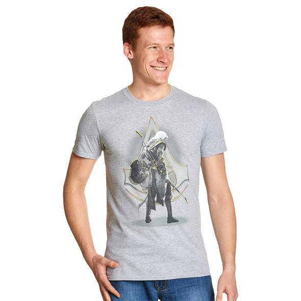 Assassins Creed - Bayek T-Shirt grau