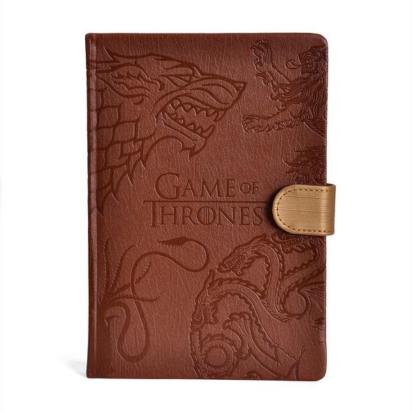 Game of Thrones - Häuser Wappen Premium Notizbuch A5