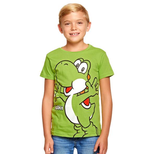 Super Mario - Yoshi T-Shirt Kinder grün