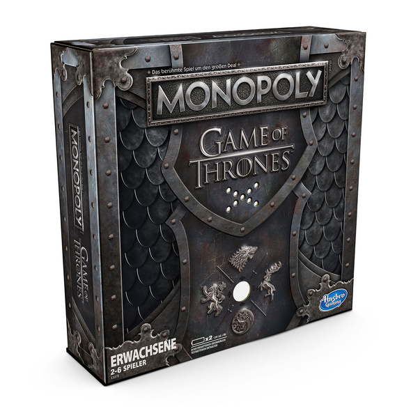 Game of Thrones - Monopoly mit Sound