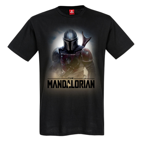 The Mandalorian Fighter T-Shirt schwarz - Star Wars