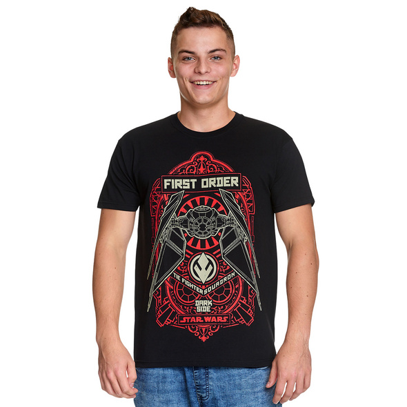 Star Wars - Tie Fighter Squadron T-Shirt schwarz