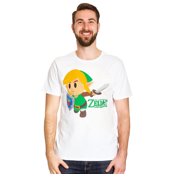 Zelda - Links Awakening T-Shirt weiß