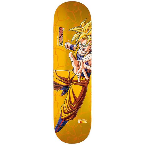 "X Dragon Ball Z 8.5"" Rodriguez Super Sajyan Goku Skateboard Deck"