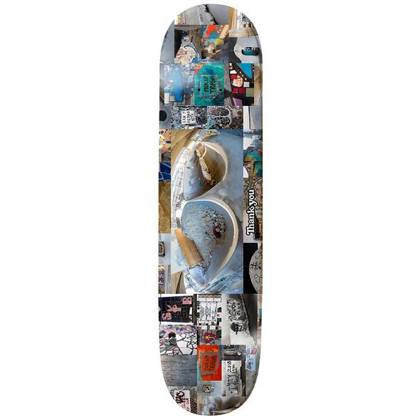 """Channel Tribute 8.25"""" Skateboard Deck"""