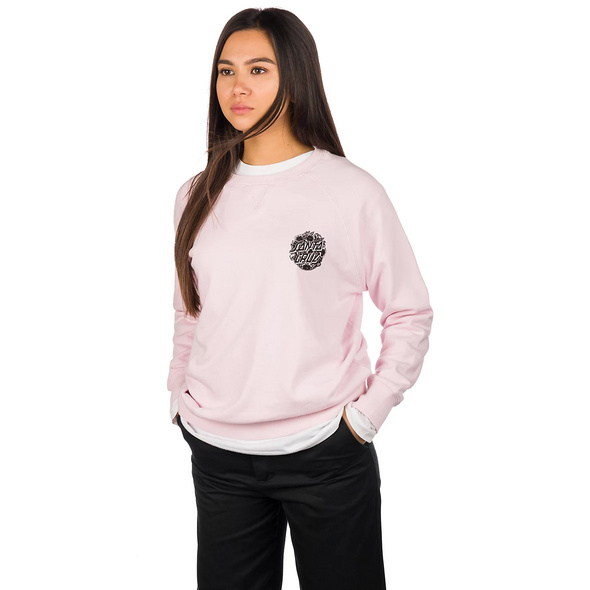Cali Poppy Crew Sweater