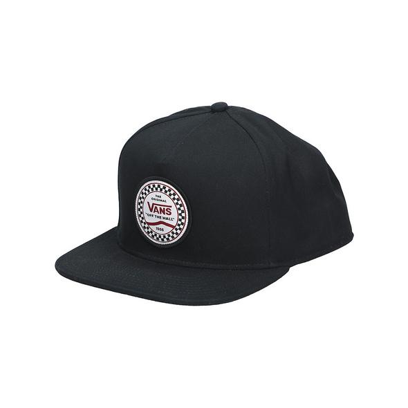 Checkered Side Snapback Cap
