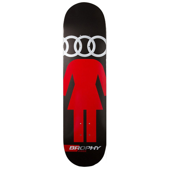 "Brophy Carnut 8.0"" Skateboard Deck"