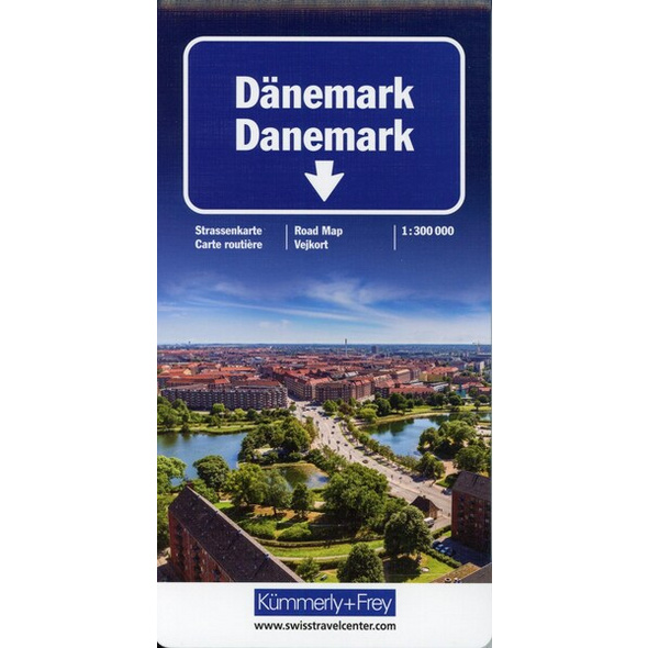 KuF Dänemark Straßenkarte 1 : 300 000