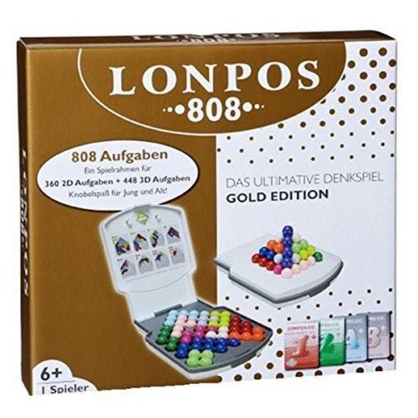 Lonpos HCM56115 - 808, Knobelspiel, Kartenspiel, Familienspiel