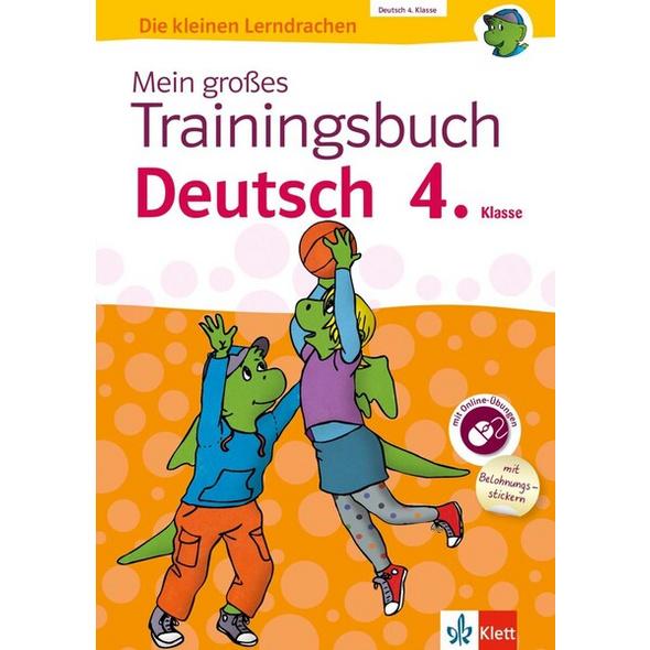 Klett Mein großes Trainingsbuch Deutsch 4. Klasse