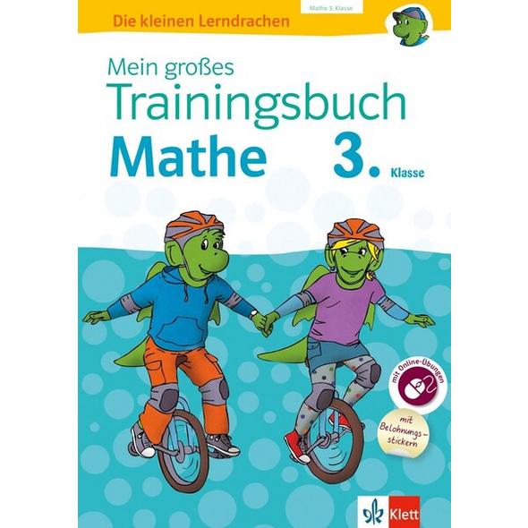 Klett Mein großes Trainingsbuch Mathematik 3. Klasse