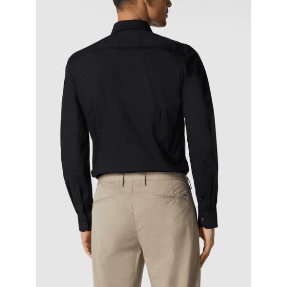 Super Slim Fit Business-Hemd aus Popeline mit extra langem Arm