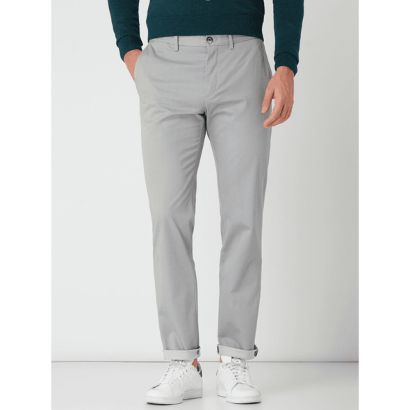 Straight Fit Chino mit Stretch-Anteil Modell 'Denton'