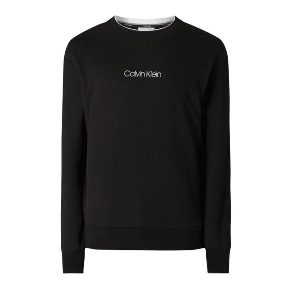 Sweatshirt aus Baumwolle mit Logo-Print