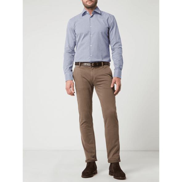 Slim Fit Business-Hemd aus Baumwolle Modell 'Jango'