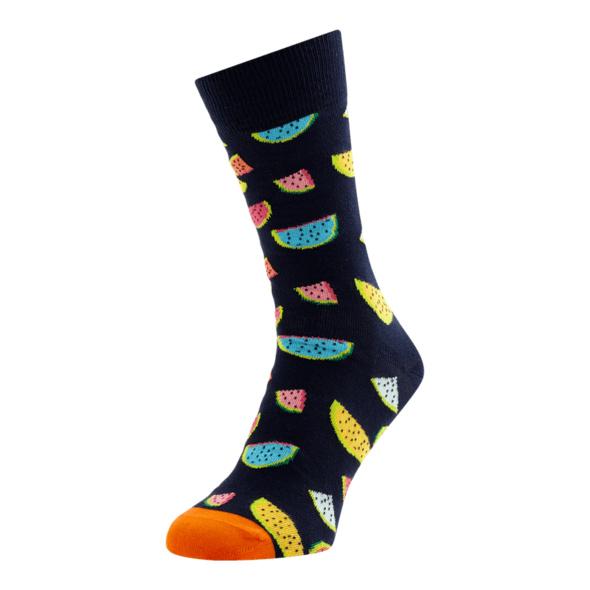 Socken mit Allover-Muster