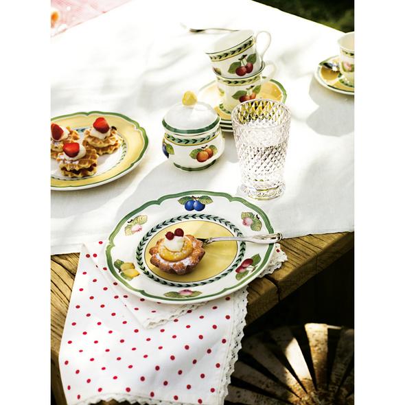 French Garden Fleurence Frühstücksteller