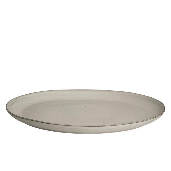 Servierplatte oval Nordic Sand 35,5cm