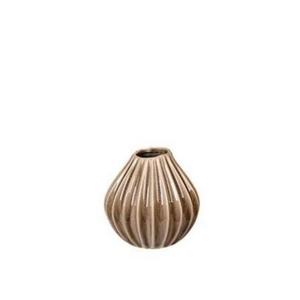 Vase Wide S sand