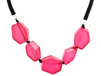 Kette - Pink Stones
