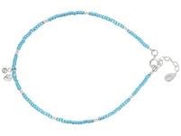 Fußkette - Silver Blue