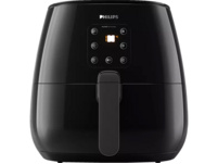 PHILIPS HD 9260/90 AIRFRYER XL Heißluftfritteuse, Deep Black