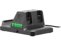 SPEEDLINK QUAD Multi-Charger - for Nintendo Switch, black Ladestation, Schwarz