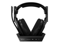 ASTRO GAMING A50 Wireless + Base Station for PlayStation® 4/5/PC Gaming Headset, Schwarz