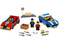 LEGO 60242 Festnahme auf der Autobahn Bausatz, Mehrfarbig